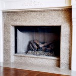 Fireplace surround, West Vancouver, courtesy of Woodrose Homes